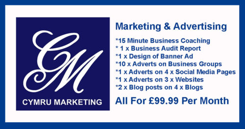 DIGITAL MARKETING BANNER CYMRU MARKETING